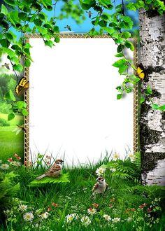 Nature and Birds~~J Frame Border Design, Page Borders Design, Flower Iphone Wallpaper, Phone Screen Wallpaper, Diwali Pictures, Funny Happy Birthday Images, Creative Flower Arrangements, Printable Frames, Frame Background