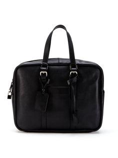 Leather Briefcase by SAINT LAURENT PARIS at Gilt