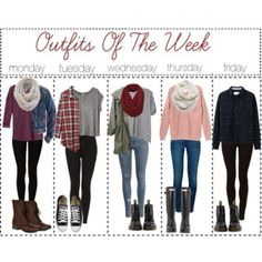 Love love love these outfits of the week, perfect for fall + winter and definitely my style.