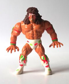 WWF Ultimate Warrior 1991 Wrestling Action Figure - SOLD by QuirkMuseum