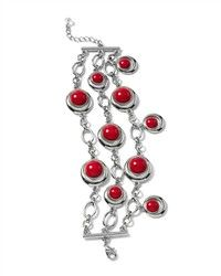 Cabochon multi-row bracelet from White House Black Market for $48.    #feelbeautiful #whbm