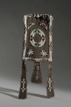 Cheyenne Bag with three Pendant Stripes