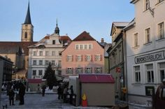 Weihnachtsmarkt in Iphofen im unterfränkischen Landkreis Kitzingen