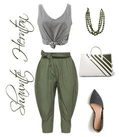 """""""Untitled #639"""" by fashionista-shawnte on Polyvore featuring Isolde Roth, J.Crew and Anya Hindmarch"""