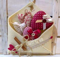 Il filo di mais di Chiara Gloria e Daniela: Cucito creativo : cuori e cuoricini per san Valentino
