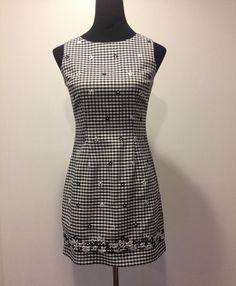Black & White Gingham and Daisy Print sz 5/6 by HerCedarCloset, $12.05
