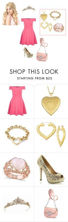 """Disney  Sleeping Beauty (Aurora) Inspired"" by ilovepb ❤ liked on Polyvore featuring River Island, Fremada, Tiffany & Co. and Allurez"