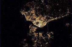 Lisboa vista lá de cima... mesmo do céu
