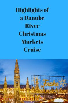 Come along with me as I show you Christmas Cruises: The highlights of a Danube River Christmas Market Cruise with Viking Christmas! You will be happy! Cruise Europe, Packing For A Cruise, Cruise Travel, Cruise Vacation, Shopping Travel, Christmas Cruises, Christmas Markets, Christmas Travel, Bahamas Cruise