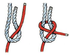 Seven Essential Knots for Sailors - Sail Magazine - Your Source for Sailboats and Sailing Adventures Sailing Knots, Sailing Ships, Scout Knots, Bowline Knot, Das Abc, Types Of Knots, Knots Guide, Overhand Knot, Tent Pegs