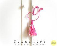 Colgante Crochet Silueta - Crochet - Tejidos de Punto - 516202