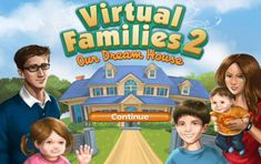 Virtual Families Our Dream House. Adopt a little person from the thousands of choices of little people who live inside your computer. Help them choose a suitable mate, start and raise a family! Virtual Families 2 Cheats, Very Fun Games, Ios, App Hack, Game Resources, Got Game, Game Guide, Free Gems, Iphone