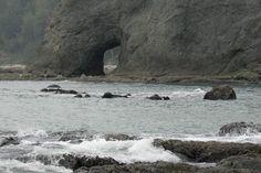 Hole in the wall at Rialto Beach. Rialto Beach, Beach Photos, Water, Outdoor, Water Water, Aqua, Outdoors, Outdoor Games, Outdoor Living