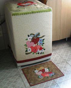 Capa para lavadora de roupas | Lu Art´S