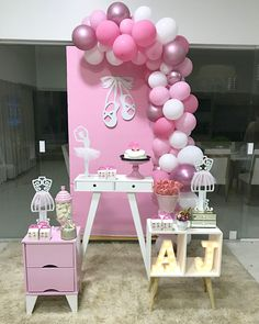 Questioning what to do for decorations along with your subsequent celebration? Looking for new celebration ornament concepts? Ballerina Party Decorations, Ballerina Birthday Parties, Girl Baby Shower Decorations, Birthday Decorations, Birthday Party Themes, Birthday Cake, Ballerina Baby Showers, Baby Shower Princess, Angelina Bailarina