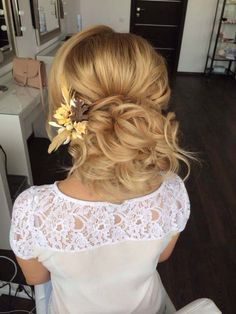 wedding hairstyle updo 11 via antonina roman