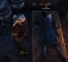 There's something about Roche's sleeping position that bothers me..