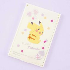 Pokémon Pikachu Folding Vanity Mirror - Blippo Kawaii Shop Nintendo Pokemon, Kawaii Accessories, Kawaii Shop, Makeup Yourself, Pikachu, Super Cute, Vanity, Mirror, Prints