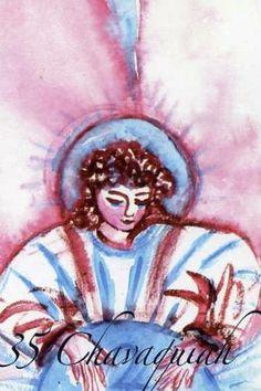 (35) CHAVAKHIAH (Kabbalistic angel) 13-17 September,provides essence of Reconciliation:. (ángel Cabalístico) 13-17 septiembre, guardián aporta esencia de: Reconciliación.