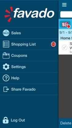 Favado ist ein App das dir beim einkaufen in der USA hilfreich sein kann. Erstelle deine Einkaufsliste einfach und schnell und finde die passenden Coupons. #UsaBilligAberGutLeben http://usabilligabergutleben.blogspot.com/2015/11/favado.html ...