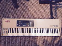 MATRIXSYNTH: Akai AX73 Vintage Analog Polyphonic Synthesizer