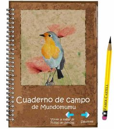 cuderno de campo para niños fichas de animales para niños