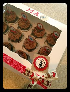 Cowgirl cupcakes ❤