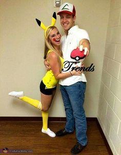 Pikachu y Ash