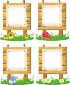 Cartoon billboard 01 vector Vector cartoon - Free vector for free download