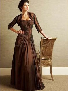 Evening gowns for the mother of the bride or mother of the groom