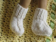 PDF KNITTING Pattern Preemie Prem Baby Booties/Socks by carolrosa, £1.95