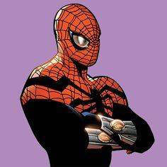 Marvel Heroes, Marvel Dc, Marvel Comics, Superior Octopus, The Superior Spider Man, Avengers, Marvel Comic Character, Dc Comics Art, Spider Verse