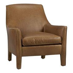 Crate & Barrel // Dalton Leather Chair // $1,999.00
