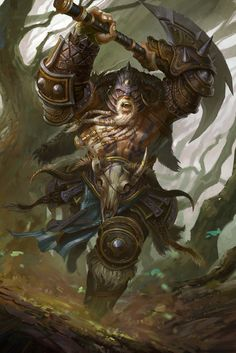 High level berserker by ZhangQipeng.deviantart.com on @deviantART