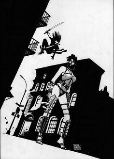 Eduardo Risso - Sin City Comic Art