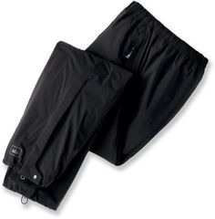 Water proof biking pants. I just bought them and they rock on sale at REI for 49.00 normally 75.00