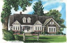 Eplans Cottage House Plan - Vitality and Versatility - 2174 Square Feet and 4 Bedrooms from Eplans - House Plan Code HWEPL08367