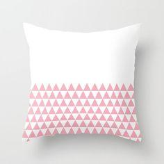 36 colours Geometric Triangles Half Print by ThingsThatSing