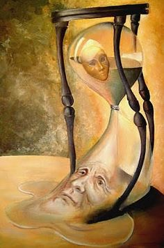 when did you first see your own hourglass? Satirical Illustrations, Ap Studio Art, Surrealism Painting, Time Warp, Cycling Art, Surreal Art, Fantasy, Art Google, Illustration Art