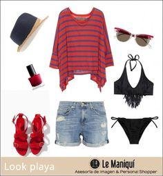 ¿Qué me pongo para ir a la playa? http://www.lemaniqui.com/que-me-pongo-para-ir-a-la-playa/