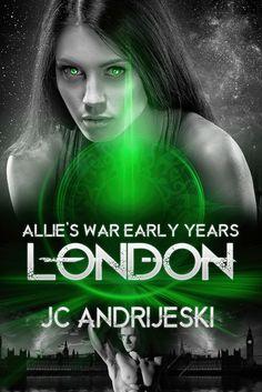 Cover created for Author JC Andrijeski