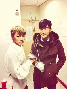 Twitter / Siwon with Sungmin