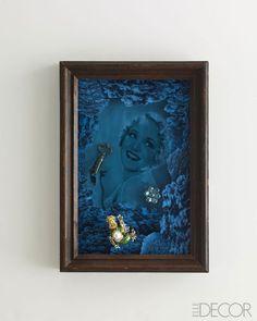 Joseph Cornell Recreations - ELLE DECOR