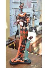 Esculturas, mantas, capa de almofada e muito mais peças que remetem Africa você contra na loja Terra Nossa