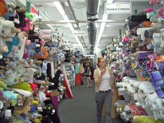 The Polka Dot Closet: Shopping The New York Garment District - there's nothing like this in Wisconsin.... (whine, whine)