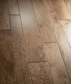 Artisan Hand-Carved Engineered Hardwood Flooring - California Classics Del Mar Hickory