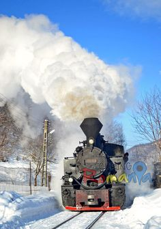 Steam Train Mocanita, Maramures, Romania http://www.touringromania.com/tours/long-tours/wooden-churches-from-maramures-private-tour-8-days.html