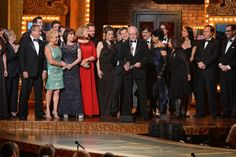 Playwright Robert Schenkkan accepts the award for Best Play for 'All The Way' onstage during the 68th Annual Tony Awards at Radio City Music Hall on June 8, 2014 in New York City.  Credit: Getty Images for Tony Awards Pro