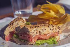 Sandwich de Salmão