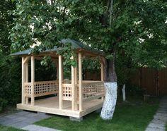 Беседка садовая красивая Мини-шатер 3 на 3 метра